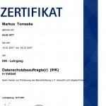 Markus Tomaske - Jugend- und Datenschutzbeauftragter nsch BDSG